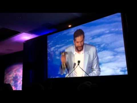 Bryan Fuller Accepts Saturn Award for Hannibal - Best Network TV Show