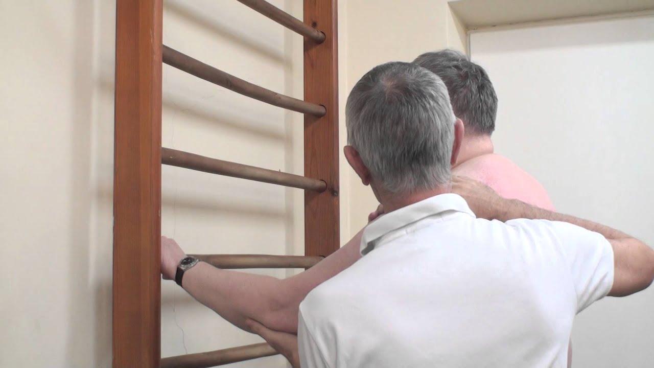 Зарядка при артрозе плечевого сустава видео особенности атлантоосевого сустава