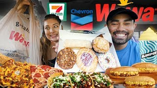Eating ONLY GAS STATION food for 24 hours!