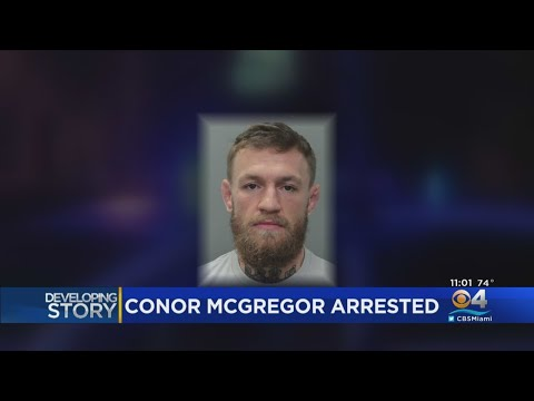 Conor McGregor Out Of Jail Following Arrest In Miami Beach For Incident With Fan's Phone