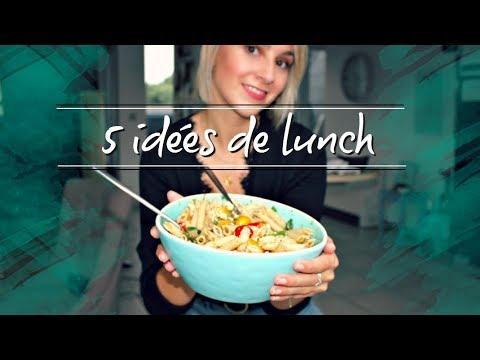 BACK TO WORK: 5 idées de lunch pour l'école ou le bureau