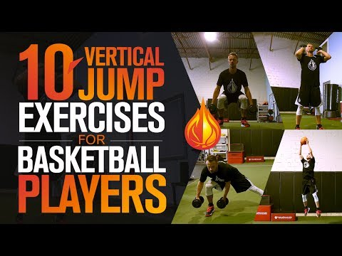 10 Vertical Jump Exercises For Basketball Players with Coach Alan Stein