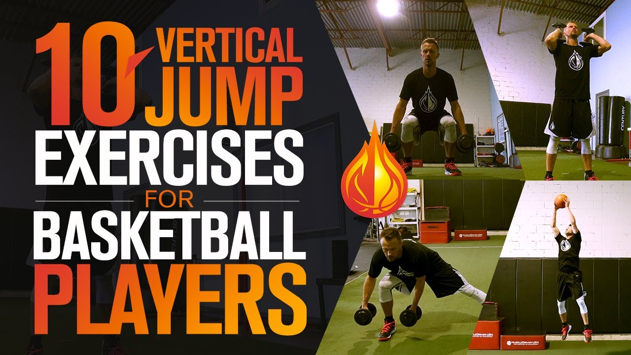 10 Vertical Jump Exercises For Basketball Players With Coach Alan Stein Egt Basketball Youtube