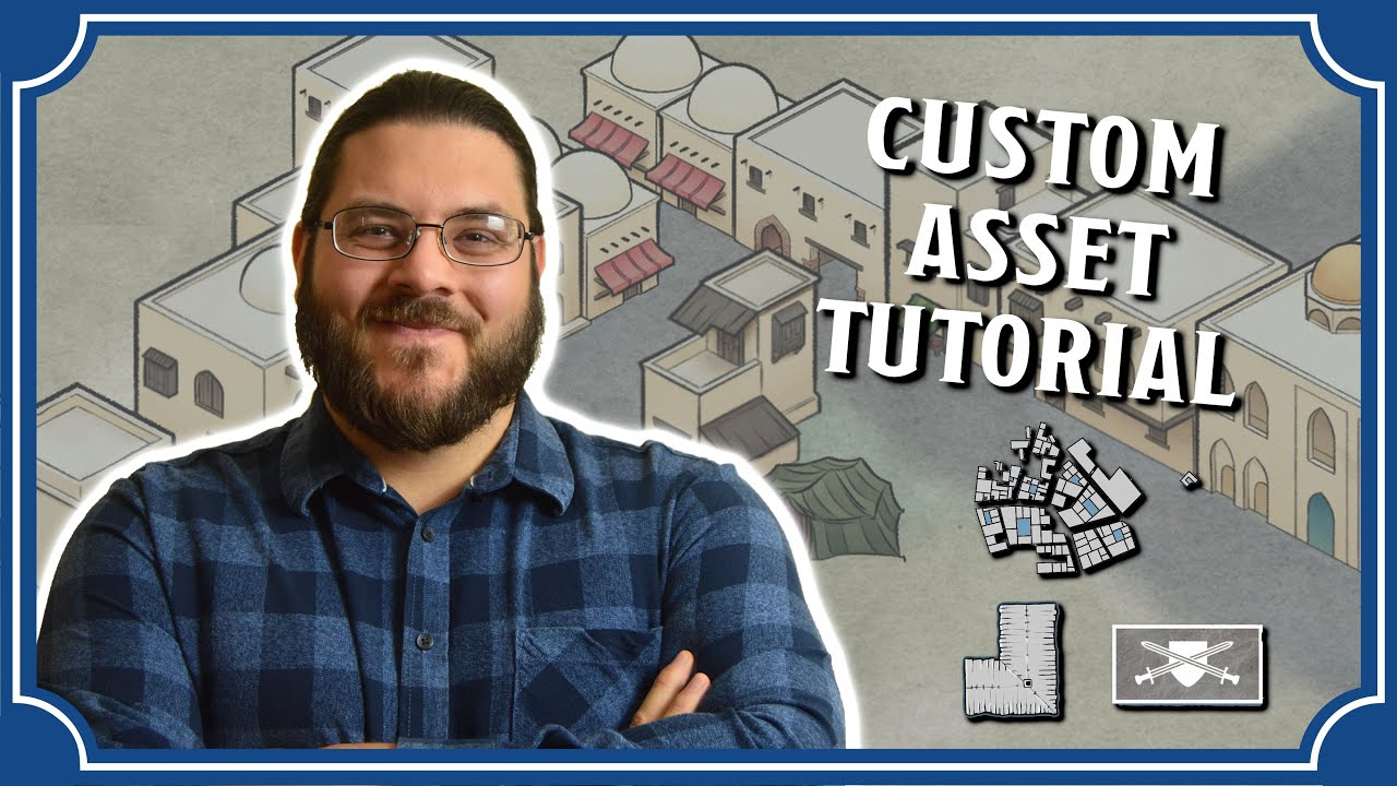 How to Add Custom Assets to Wonderdraft | Icarus Games