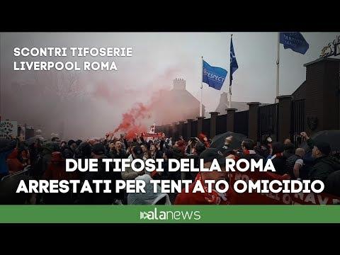 Scontri fra tifosi prima di Liverpool-Roma: due arrestati