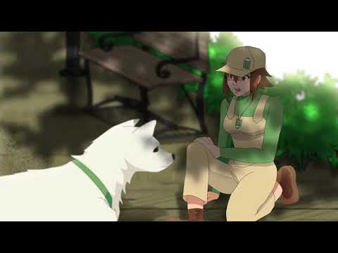 Short Animation - Girl And A Dog