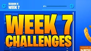 SEASON 10 WEEK 7 CHALLENGES LEAKED FORTNITE (SEASON X)