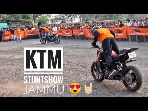 KTM Stunt Show Jammu 2016