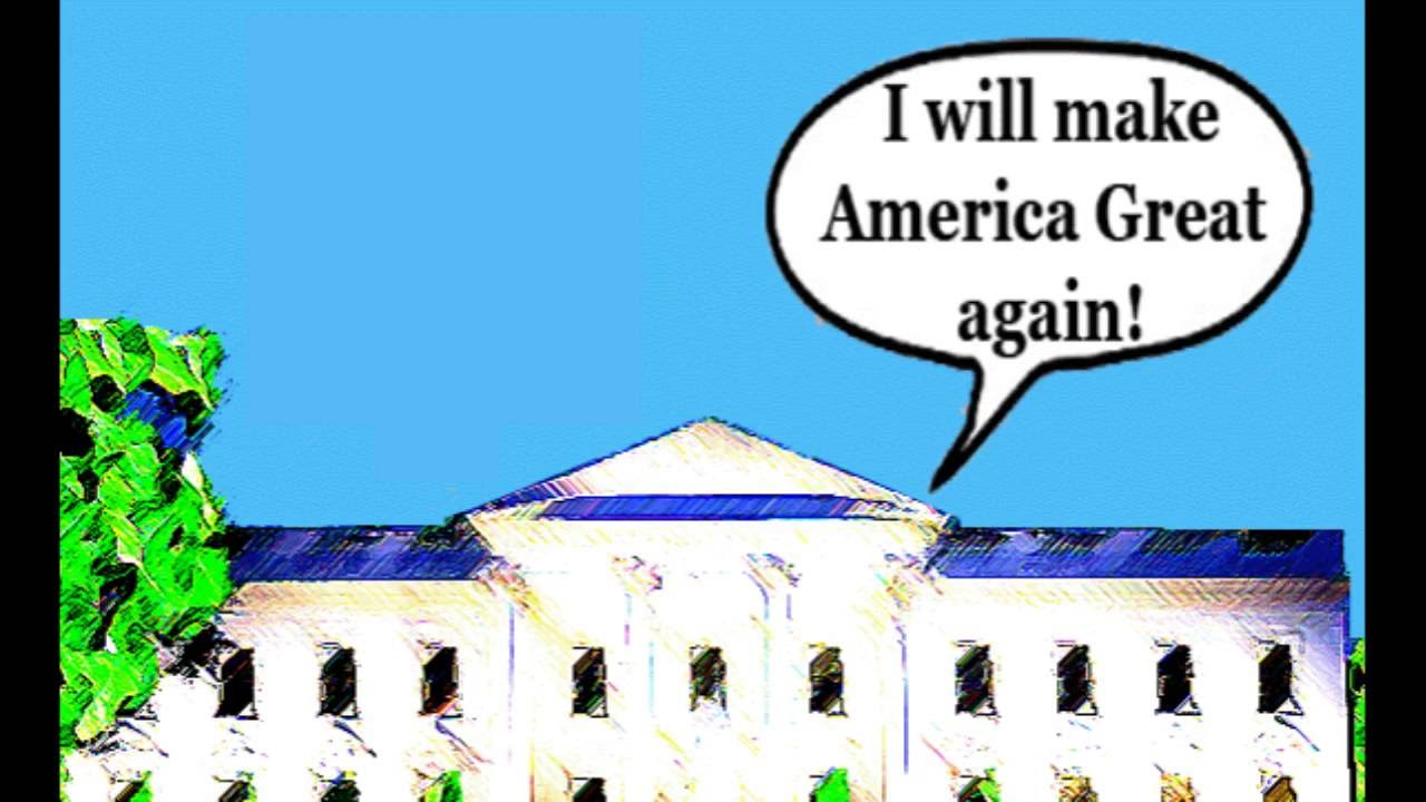 Satire When Donald Trump Is President Of America Youtube