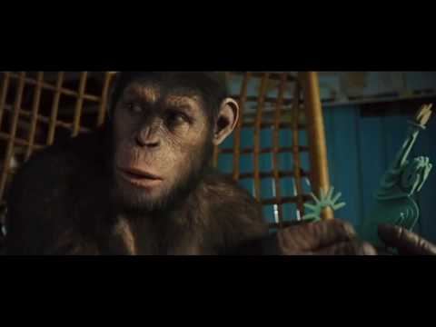 Caesar vs Neighbor Fight Scene (Rise of the Planet of the Apes)