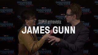"""SUPER entrevista: James Gunn, diretor de """"Guardiões da Galáxia"""" 1 e 2"""