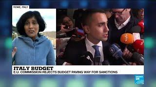 Rome defiant after EU Commission rejects budget again