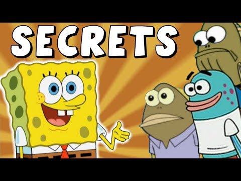 SECRETS of Background Spongebob Characters