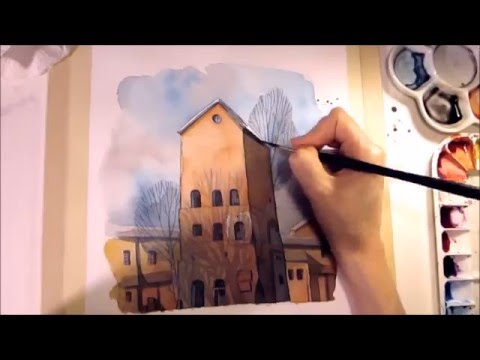 watercolor-pencil-illustration-[speed-painting-with-chat]-drawing-by-iraville