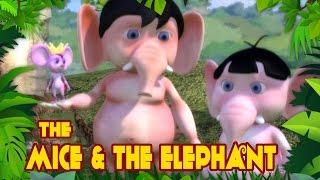 Cartoon-Geschichten für Kinder - Mäuse-Und Die Mächtigen Elefanten - Dschungel-Geschichten