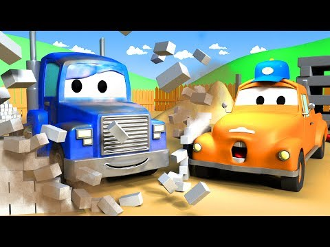 Tom the Tow Truck's Car Wash and SUPER TRUCK !! | Truck cartoons for kids