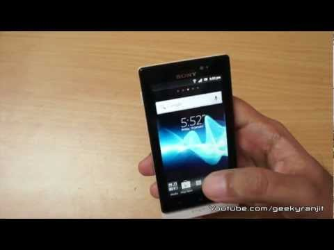 Sony Xperia Sola android phone in-depth review