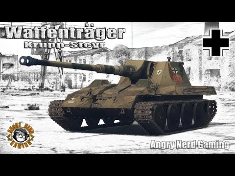 War Thunder: Waffentrager Krupp-Steyr, German, Tier-3, Tank Destroyer