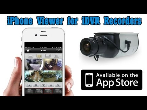 iPhone DVR Viewer App for CCTV Video Surveillance