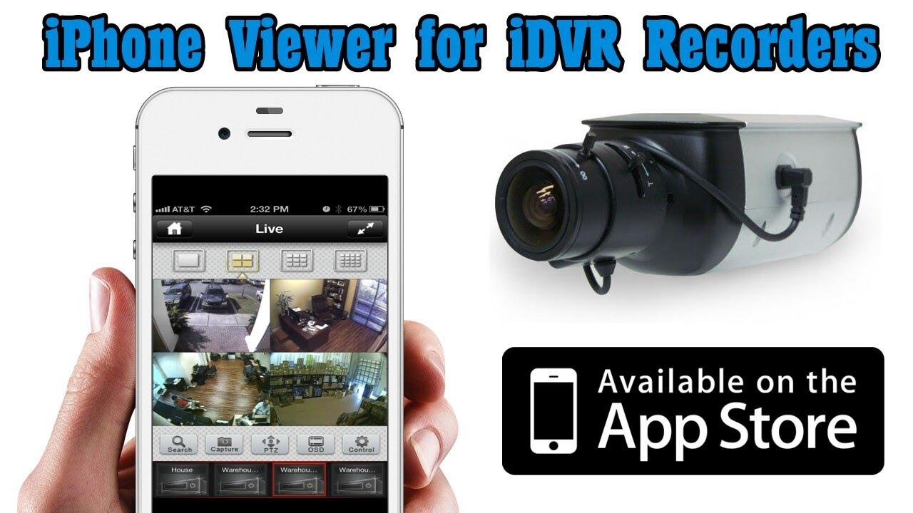 iphone dvr viewer app for cctv video surveillance youtube. Black Bedroom Furniture Sets. Home Design Ideas