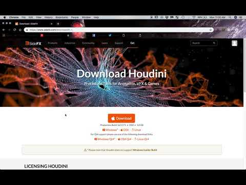 How to download Houdini for free