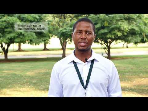 Itayi Chidzungu, Economist, Ministry of Industry and Commerce, Zimbabwe
