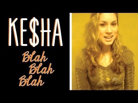 Kesha - Blah Blah Blah (clean cover) by Lisa Scinta