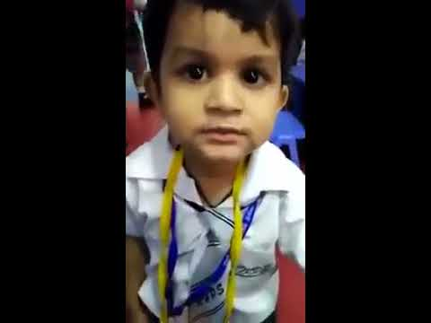 Cute Indian little child singing a bollywood song !voice india kids , episode 3