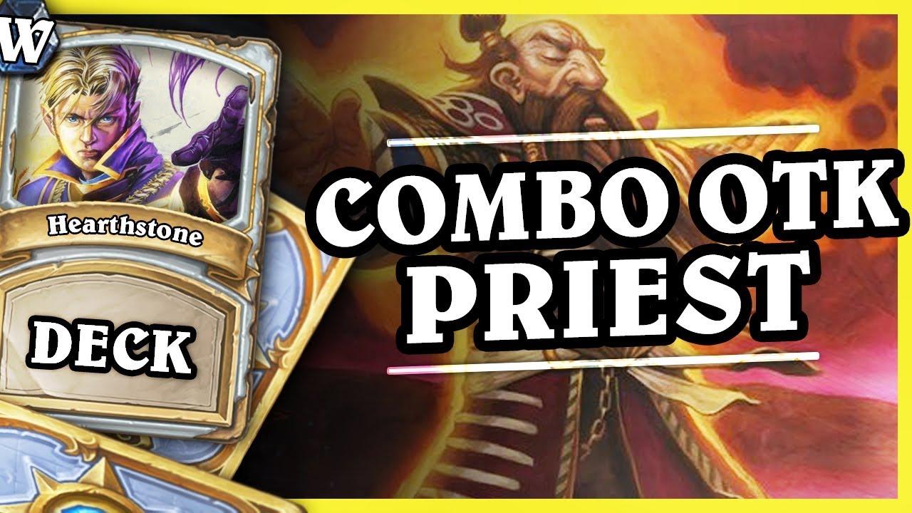 COMBO OTK PRIEST – Hearthstone Deck Wild (KotFT)