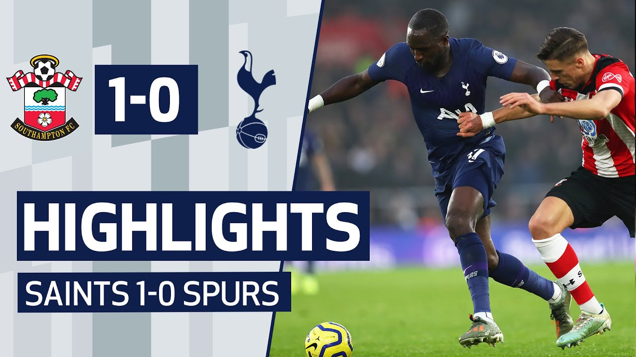 Southampton vs. Tottenham Hotspur - Football Match Report ...
