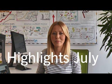 Deutsche Börse Venture Network highlights July 2017