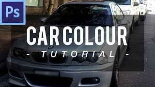 Car/Object Colour Change | Easy Adobe Photoshop CS6 Tutorial