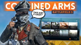 COMBINED ARMS: This Ain't It Chief... It's Disappointing - Battlefield 5 Lightning Strikes Coop Mode