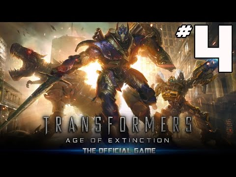 Transformers: Age of Extinction Video Game - PART 4 - Bumblebee V.2  (iOS & Android)