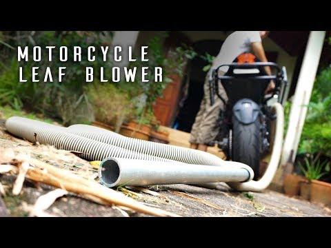 Motorcycle LEAF BLOWER - Kawasaki Z800