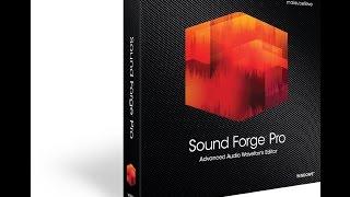 [sound forge]-Hướng dẫn học và chỉnh sửa nhạc với sound forge – Phần 1