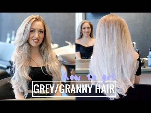 HOW TO GET GREY/GRANNY HAIR AT THE SALON - BY PARUCCIES