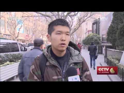 CCTV Le journal 19h 03/18/2016,présenté par:Elsa Suru-Yang