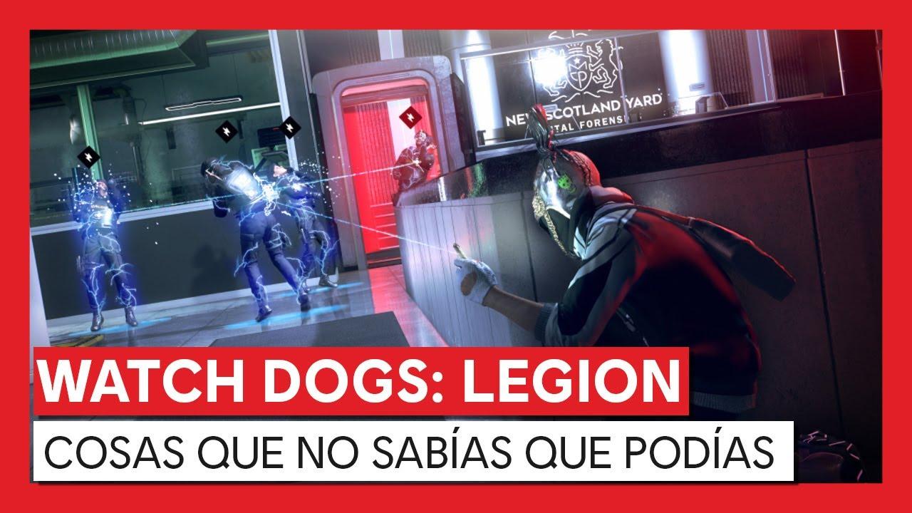 Watch Dogs: Legion - COSAS QUE NO SABÍAS QUE PODÍAS HACER