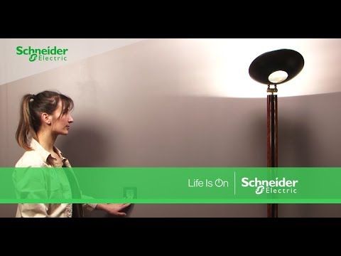comment installer un interrupteur double va et vient schneider electric youtube. Black Bedroom Furniture Sets. Home Design Ideas