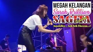ISTIMEWA! Sarah Brillian - Wegah Kelangan - Sagita Music - New Exito Cafe