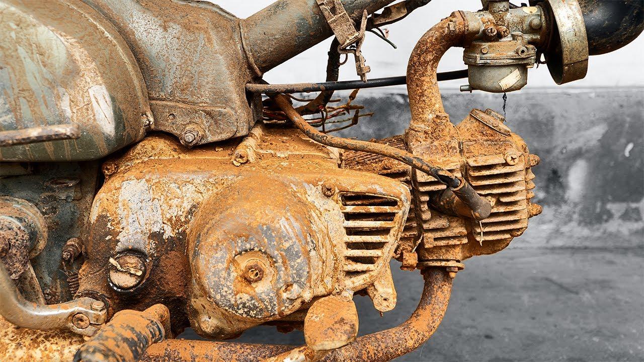 1979 Honda Super Cub C50 Engine Restoration | Restoration Honda Cub C50