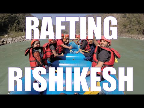 River Rafting at Rishikesh! (Feb 2017) - Accident Rescue and Fun times :)