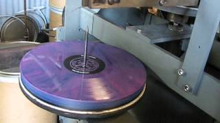 DREAMS IN THE WITCH HOUSE vinyl press-test at Capsule Labs