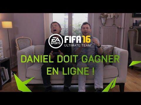 FUT 16 - Daniel doit gagner en ligne !