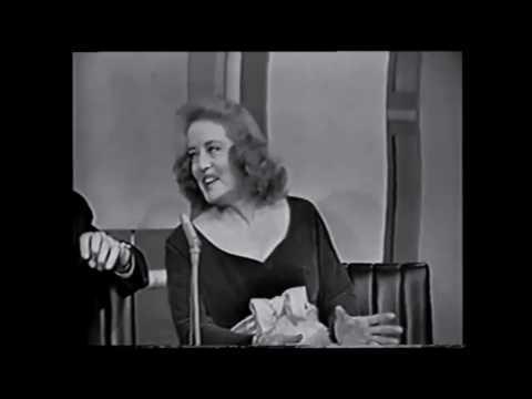 """Bette Davis on """"Whatever Happened to Baby Jane"""" (Jack Paar, 1962) - Joan Crawford Film"""