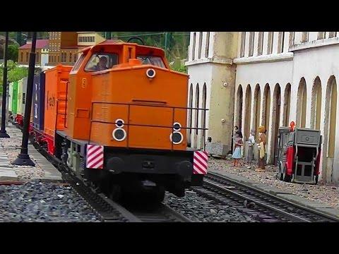 Weltgrößte LGB Gartenbahn Spur G | World largest garden model railway