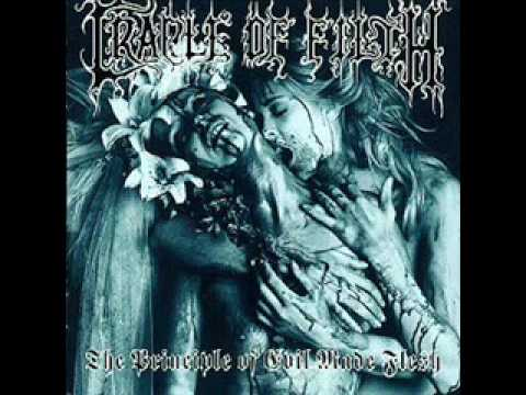 Cradle of Filth - A Crescendo of Passion Bleeding vocal cover