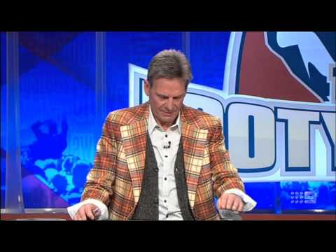 The Footy Show (AFL): Mega Drenching & Ice Bucket Challenge (29/8/2014)