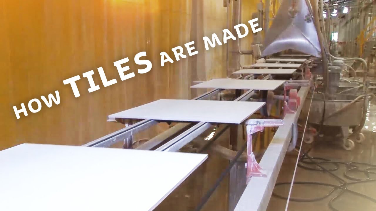 How its made tiles youtube how its made tiles ceramic industries dailygadgetfo Gallery